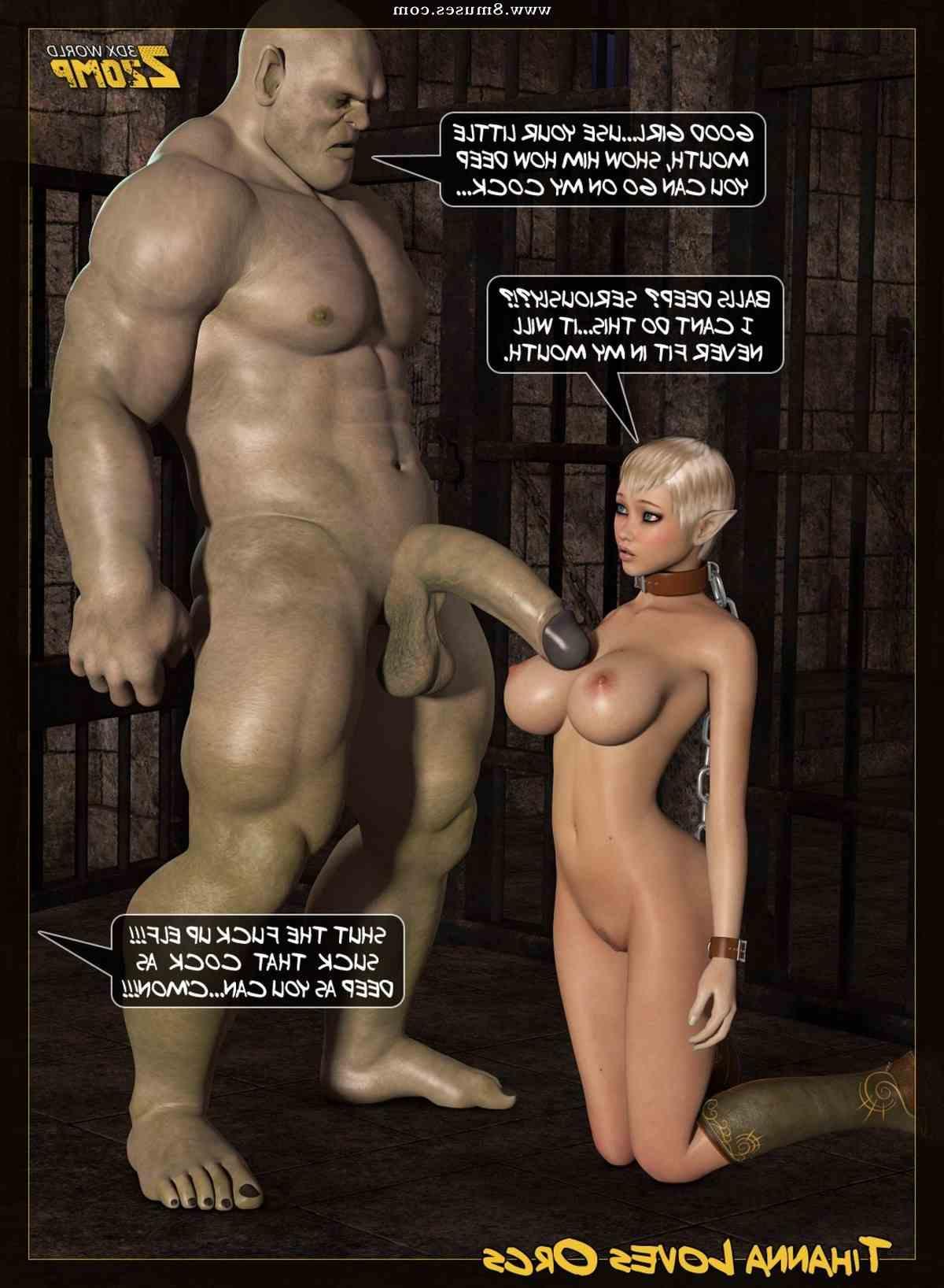 Tihanna Loves Orcs – Part.2 | Porn Comics