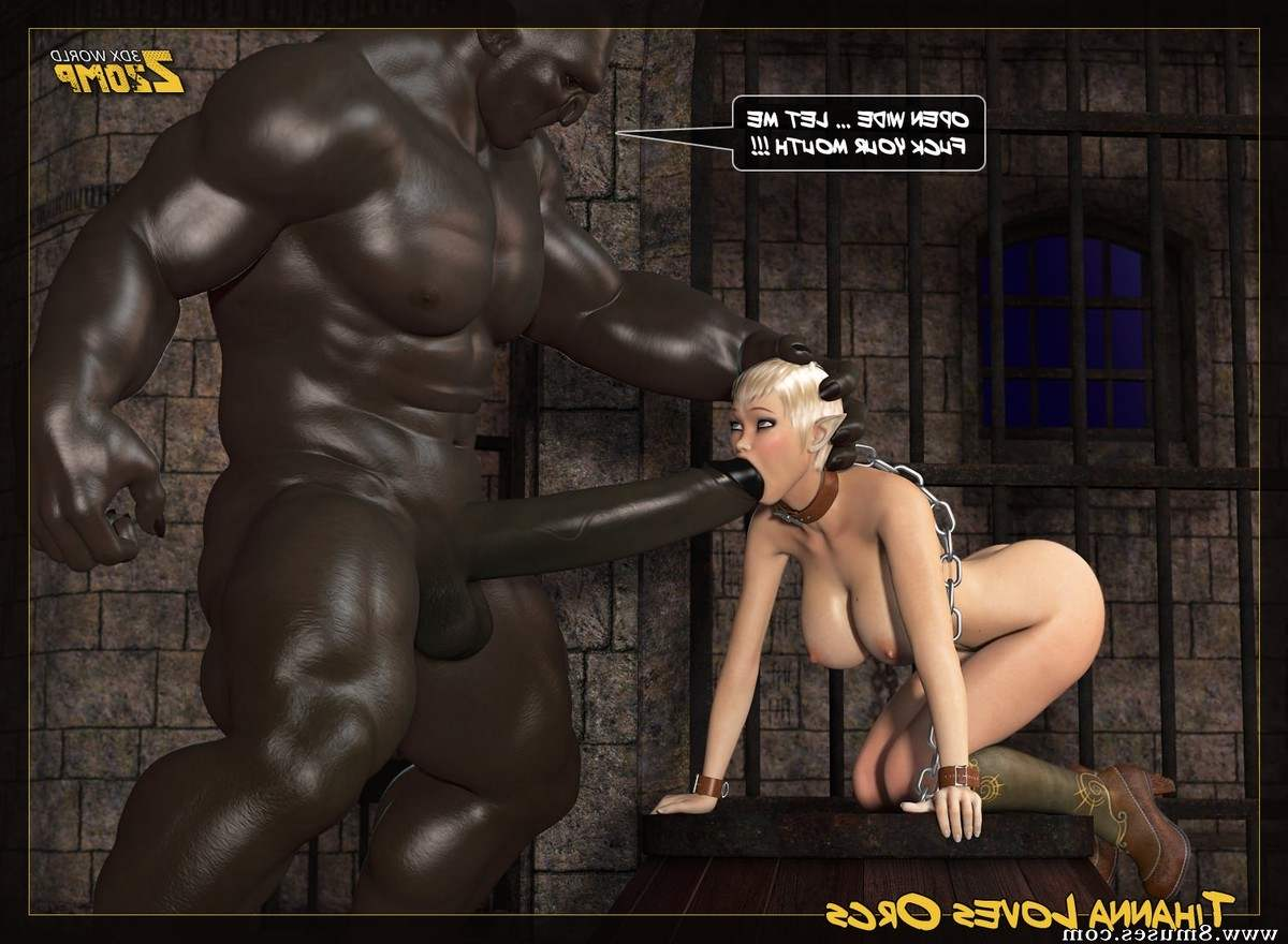 Tihanna Loves Orcs – Part.3 | Porn Comics
