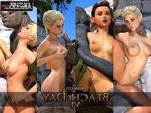 Knight Elayne – Beach Day – Part 6