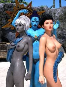 Sorceress Lori – Beach Day – Part 7