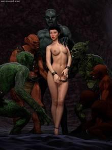 Sorceress Lori Sold to Demons – Bad Ending 2