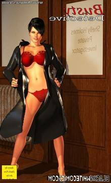 3D Busty Detective