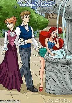 Ariel porno komiks
