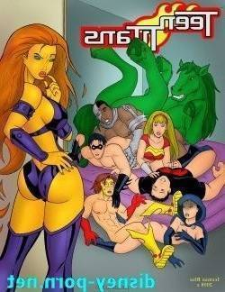 [Iceman Blue] Teen Titans > Sex Education > 12 pics