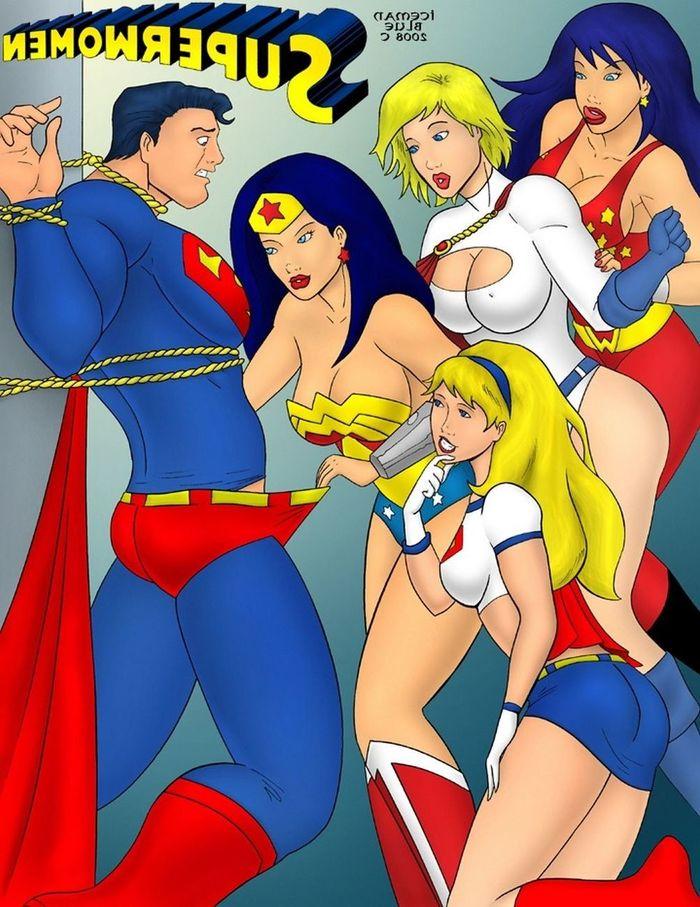 Superwomen porn