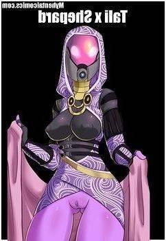 Mask Effect xxx – Shepard fuck Tali