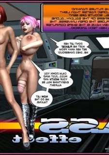 Ass Effect vol. 3 – Crazyxxx3Dworld,  Threesome 3D