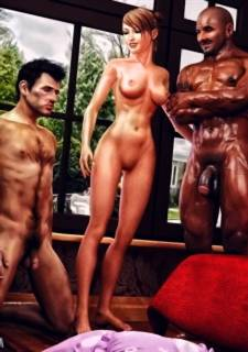 Interracialsex3d Cuckold Husband Initiation