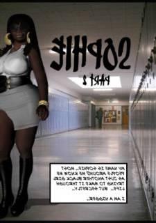 Ebony School Slut 2 – Sophie, 3D Interracial