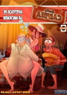 Familia Caipira 13, comics porno incesto