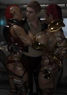 Fucking Finest Asses – Joos3DArt,  Threesome Fuck
