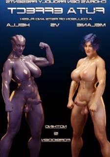 Futa Effect Heilla vs Melanie – Squarepeg3D