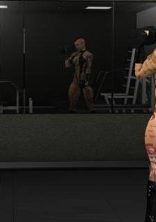 [Joos3dart] Hard Workout,  XXX 3D