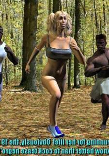 Heather Running – UncleSickey 3D Interracial