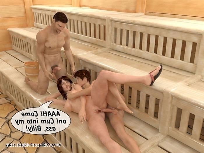 Секс Рассказы Сын В Бане