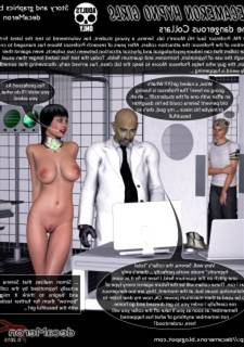 Hypno Girls – The Dangerous Collars, 3D Sex