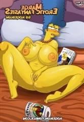 Marge's Erotic Fantasies by Kogeikun-Simpsons