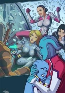 Lesbian Orgy (Miranda and Shepard)