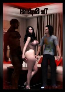 Moiarte – The Stepfather, 3D Interracial
