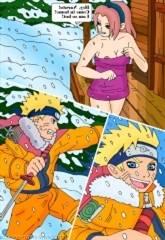 Naruto –  Hot Winter Night