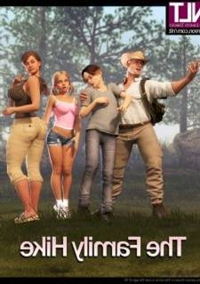 NLT Media – Family Hike,  3D Incest sex