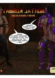 Sonya Vs Mileena – Mortal Kombat (Joos3dart)