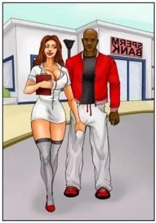 Spermbank 1, Interracial Sex