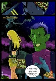 Teen Titans – Terra and Beast Boy (Okunev)