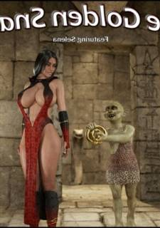 The Golden Snake – Blackadder-3D Monster Sex