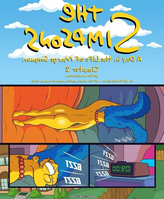 Marge Simpsons porno komiks
