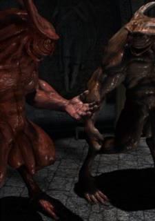 Vampirella  – Joos3DArt,  Monster XXX