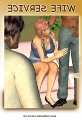 Interracial – Wife Service