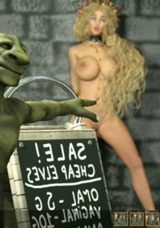 Zuleyka – Big Sale,  XXX 3D Monster